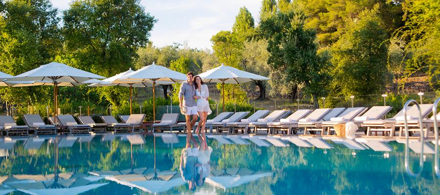 la piscine à Cassis